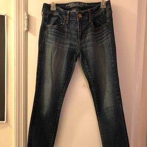 American Eagle Outfitters Jeans - American Eagle Medium Wash Super Stretch Jegging